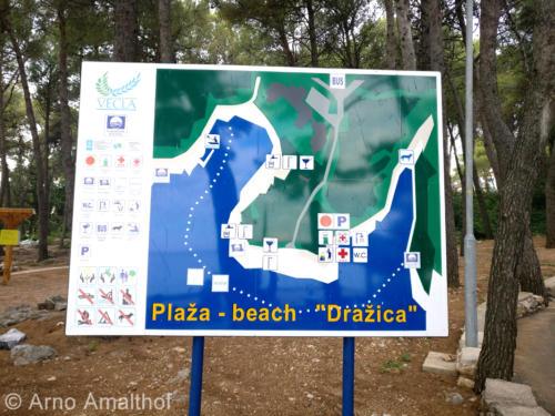 Plaža Dražica Krk - Salve Maris